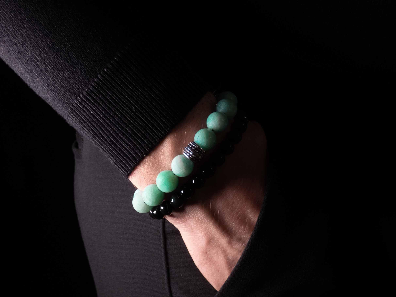 Amazoniet armband