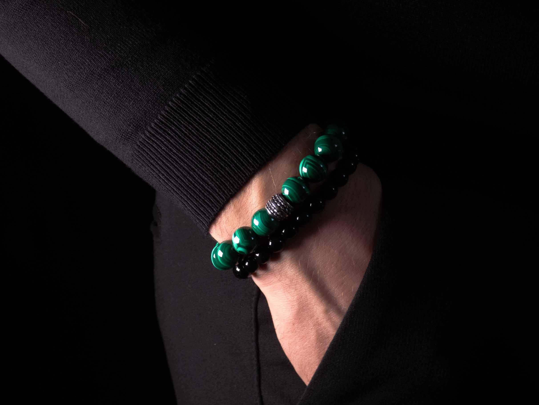 Malachiet armband