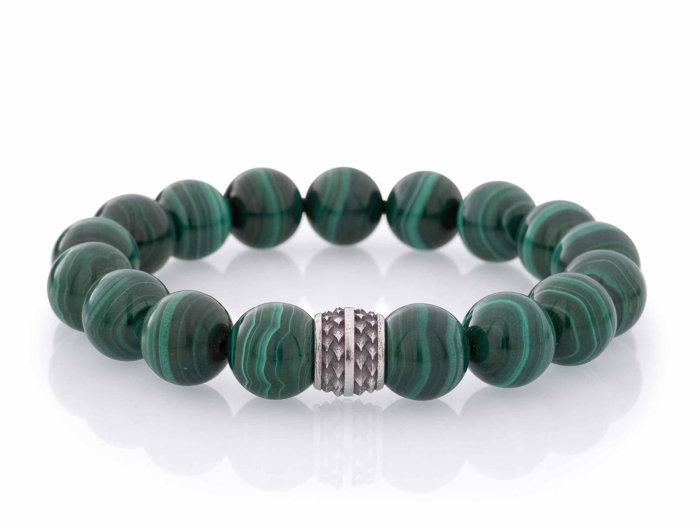 Groene armband malachiet